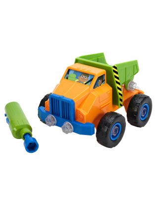 Educational Insights Design And Drill Power Play Vehicles Dump Truck