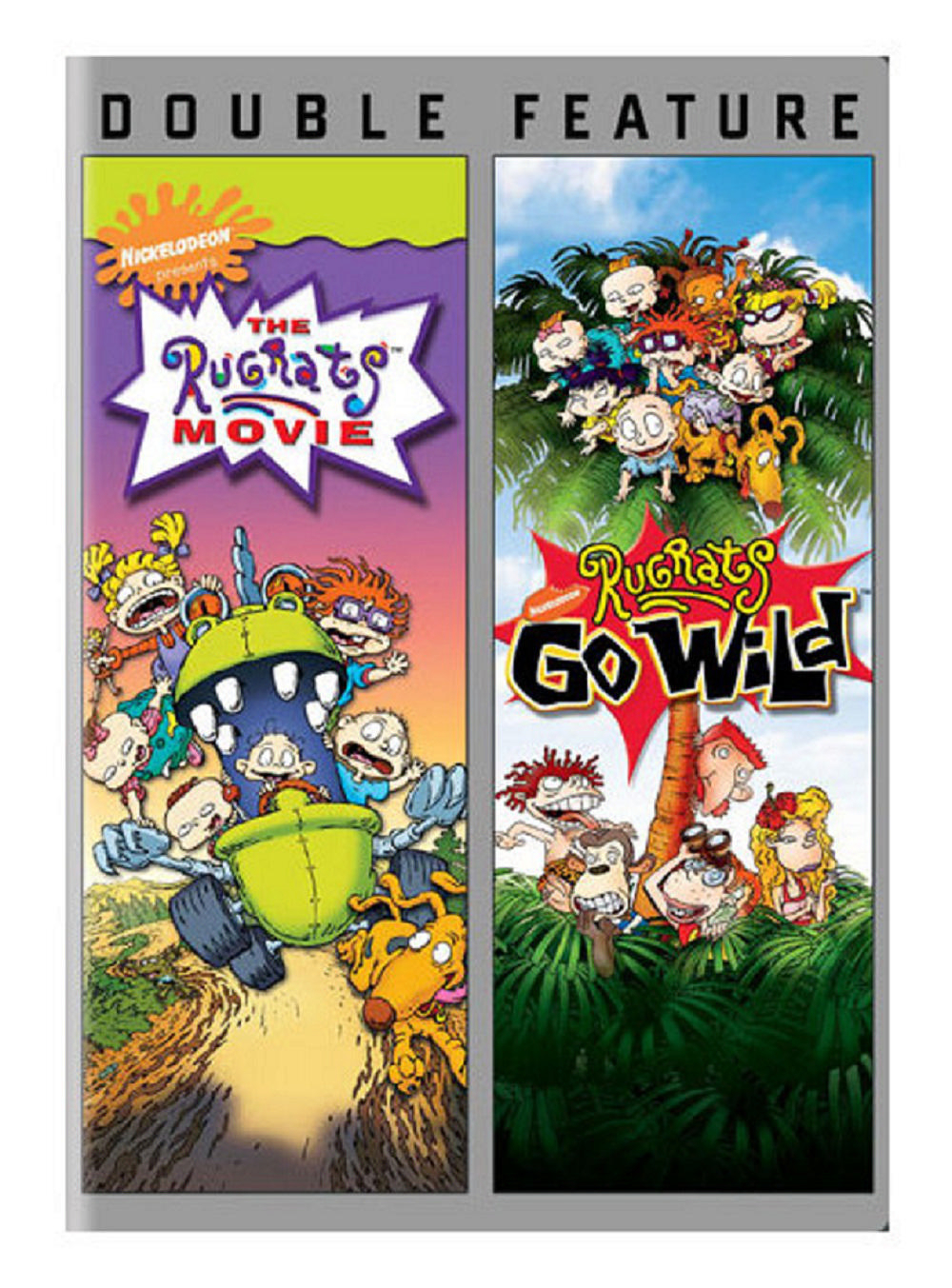 Nickelodeon: The Rugrats Movie and Rugrats Go Wild DVD