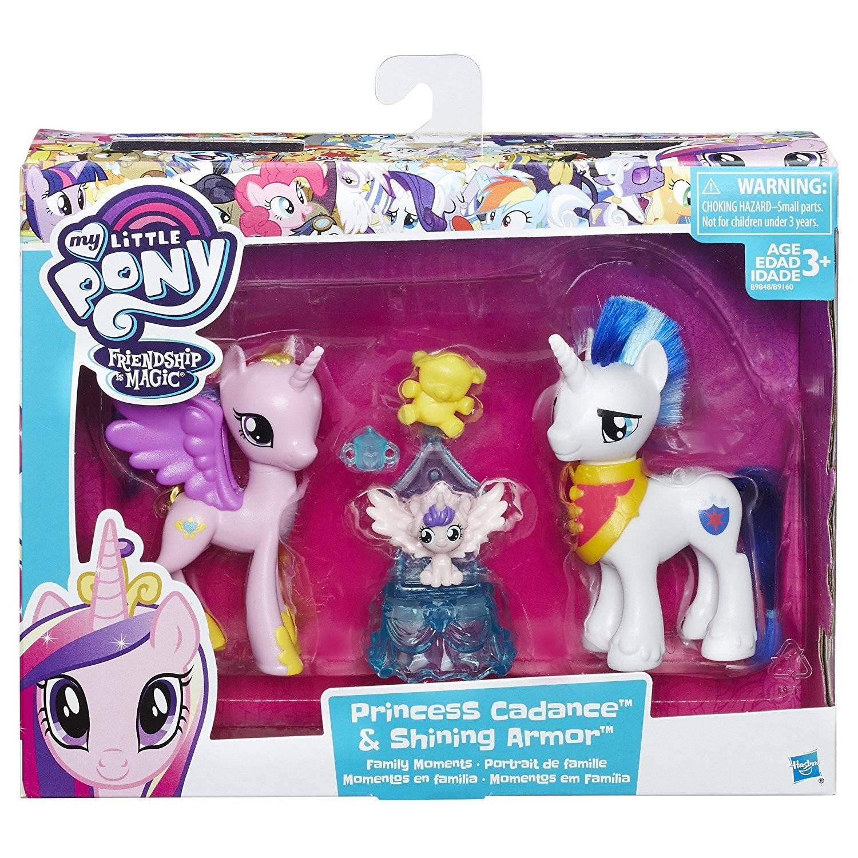 Набор My Little pony - Принцесса Каденс и Шайнинг Армор с ...
