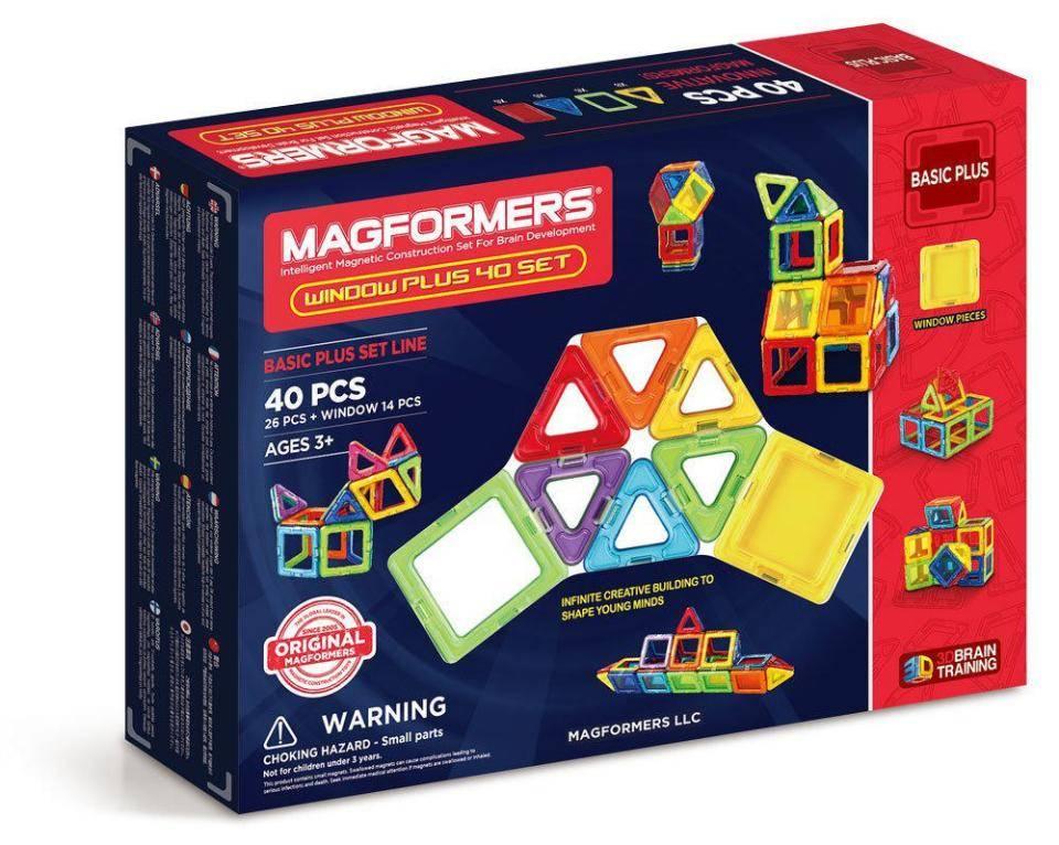Magformers Window Plus Construction Set 40 Pieces