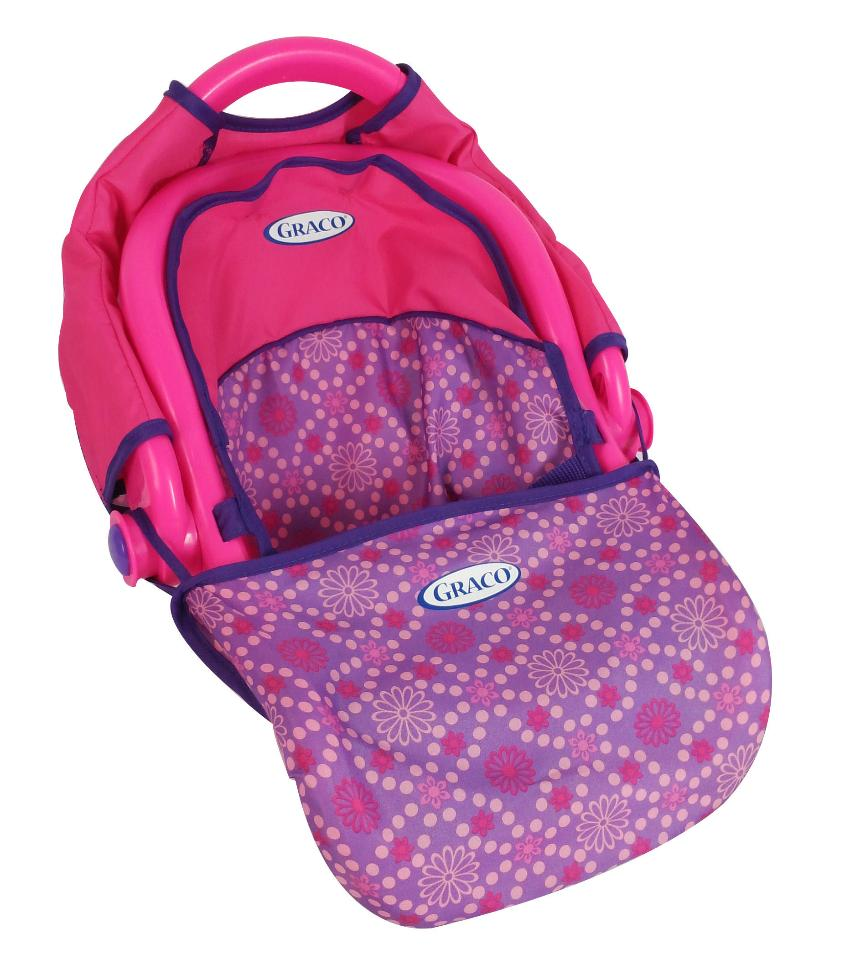 Graco 3-in-1 Doll Travel Seat - Pink and Purple (Color ...