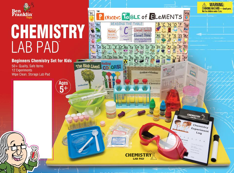 Adult chemistry sets