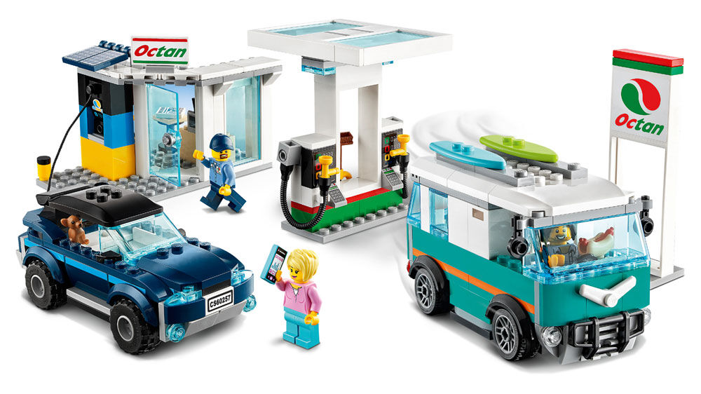 LEGO City Nitro Wheels Service Station 60257 | Играландия ...