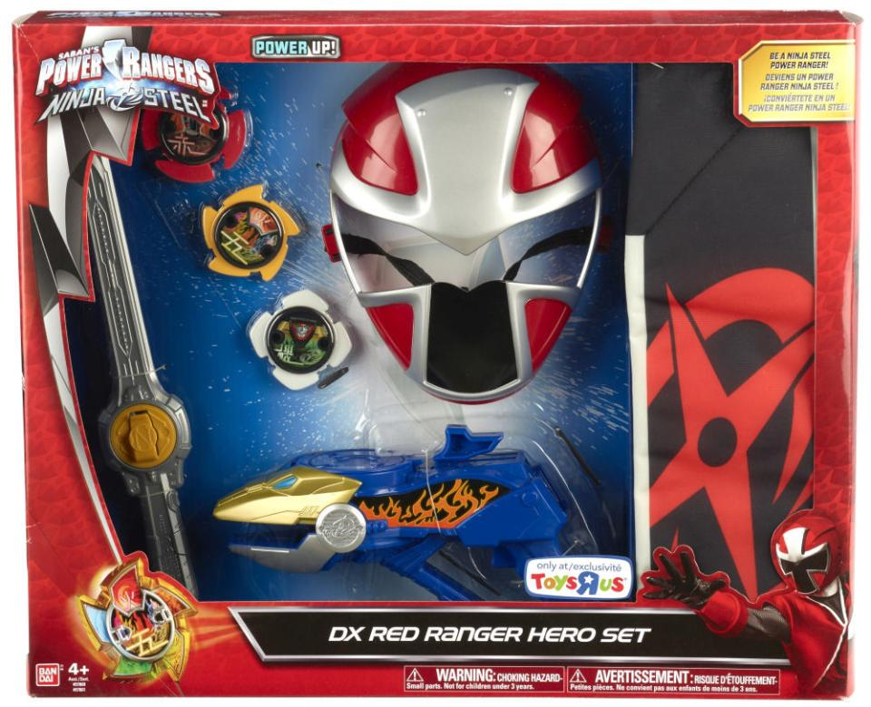 Power Rangers Ninja Steel Red Ranger Hero Set | Играландия