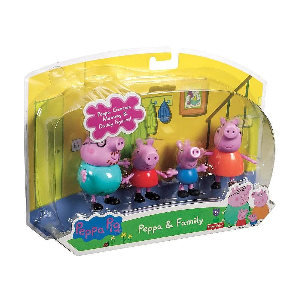 Свинка пеппа набор игрушек