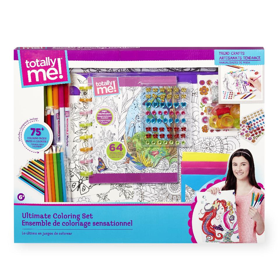 Toysrus Manualidades.Totally Me Ultimate Coloring Set Igralandiya Internet Magazin