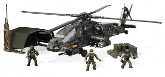 Mega Construx Call Of Duty Anti-Armor Helicopter Collector Construction Set