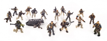 Mega Construx Call of Duty Special Ops Task Force Construction Set 344 Pieces