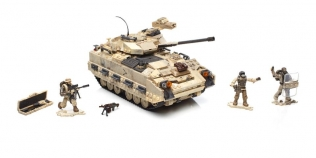 Mega Construx Call of Duty Desert Tank Collector Construction Set