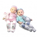 Madame Alexander Newborn Girl and Boy Twins Baby Doll - Blue/ Brown