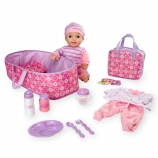 You & Me 16 inch Lovely Baby Deluxe Set - Caucasian
