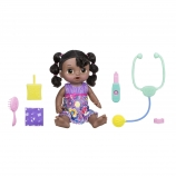 Baby Alive Sweet Tears Baby Doll Brunette with Purple Outfit