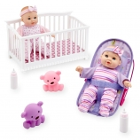 You & Me Mini Twins 8 inch Deluxe Doll Set