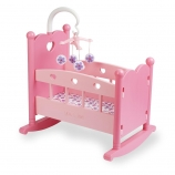 You & Me Rocking Doll Cradle