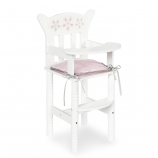 You & Me Baby So Sweet Wooden Baby Doll High Chair for 16-inch Doll