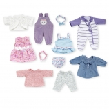 You & Me 5 Pack 12-14 inch Baby Doll Playtime Outfits