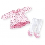 You & Me Playtime Outfit for 16-18 Inch Doll - Floral Dress