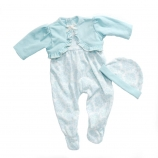 Madame Alexander Fashion Pack - Blue Belle Layette Sleeper Set