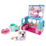 Chubby Puppies & Friends Vacation Camper Jack Russell Terrier Playset