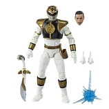 Power Rangers Lightning Collection 6-Inch Mighty Morphin White Ranger Collectible Action Figure
