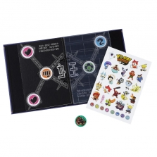Yo-kai Watch Yo-kai Medallium Collection Book - Blue