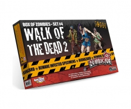 Zombicide Box of Zombies Walk of the Dead 2 Set #4
