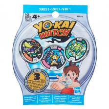 Yo-kai Watch Series 1 Medal - 1 Mystery Pack