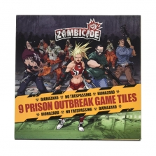 Zombicide Season 2 Prison Outbreak: 9 Double Sided Tiles Board Game