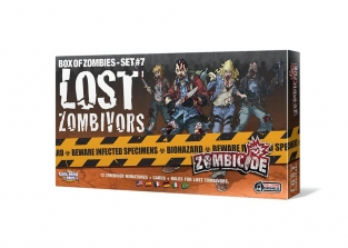 Zombicide Lost Zombivors Game