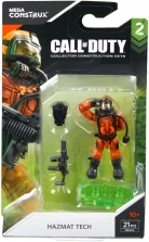 Фигурка Боец в химзащите - Mega Construx Call of Duty - Action Figure - Hazmat Tech - FMG04