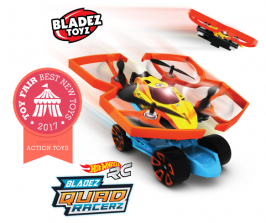 Летающий -Hot Wheels R/C Bladez Quad Racerz