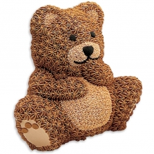 Wilton Stand-Up Cake Pan - Cuddly Bear