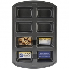 Wilton Perfect Results Mini Loaf Pan - 8 Cavity