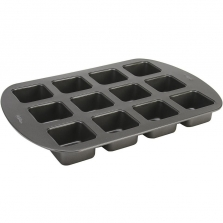 Wilton Brownie Bar Pan - 12 Cavity