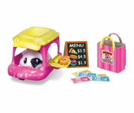 Zuru Hamster in a House Food Frenzy Series 2 Movin' Food Scooter! Playset (Color/Style May Vary)