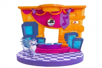Игровой набор из игры Animal Jam Club Geoz Dance Party Playset