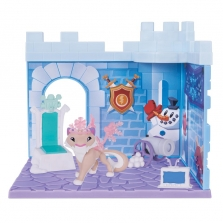 Animal Jam Snow Fort Den Playset -Снежный леопард