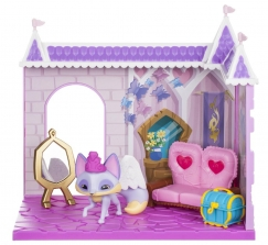 Фигурка из игры Animal Jam Princess Castle Den with Fancy Fox -Лиса