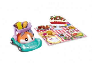 Zuru Hamster in a House Food Frenzy Series 2 Picnic Basket Buggie Playset (Color/Style May Vary)