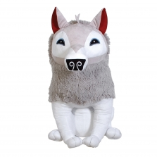 Волк из игры Animal Jam 16-inch Stuffed Arctic Wolf - White