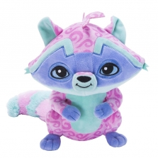 Jazwares Animal Jam 28 см Deluxe Plush Animal - Loopy Raccoon -Дикий мир