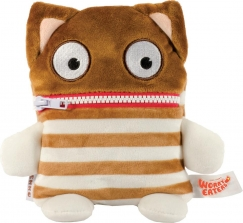 Worry Eaters Small Stuffed Enno - Brown/White