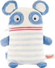 Worry Eaters Large Stuffed Bill - Blue/White