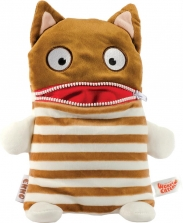 Worry Eaters Large Stuffed Enno - Brown/White