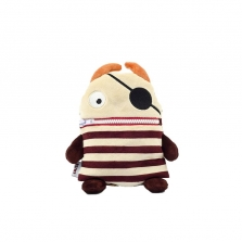 Worry Eaters Small Stuffed Flint - Brown/Tan