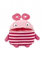 Worry Eaters Large Stuffed Frula - Red/Pink