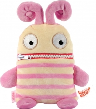 Worry Eaters Small Stuffed Polli - Pink/Tan