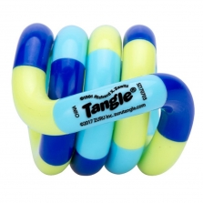 Zuru Tangle Junior Series 1 Classic Fidget Toy - Green/Blue