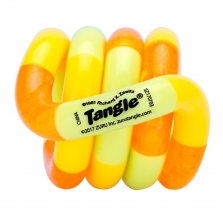 Zuru Tangle Junior Series 1 Classic Fidget Toy - Orange/Yellow