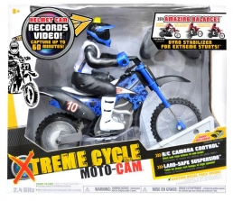 Xtreme Cycle Moto-Cam - Blue